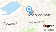 Краснопольская средняя общеобразовательная школа на карте