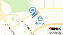 CHEZET на карте
