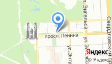 Южно-Уральский государственный университет на карте