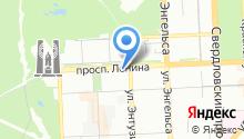 Общественные сети Южного Урала, НП на карте