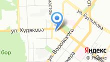 Актив Авто на карте