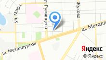 На Байкальской на карте