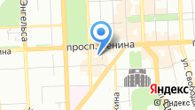Следственный отдел по Центральному району г. Челябинска на карте