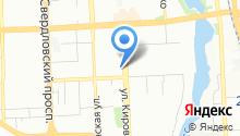 Челябинский Государственный областной театр кукол им. Вольховского на карте