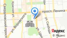 Челябинская дирекция связи на карте