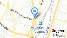 Уральский дачник на карте