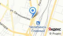 Чебаркульская птица на карте