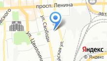 Интернет-магазин цветов на карте