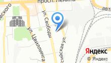 Автосервис СТО55 на карте