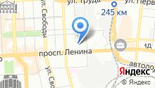 Лили на карте