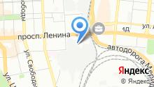 Такси Мегаполис на карте