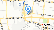Евгения на карте