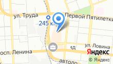 Yota на карте