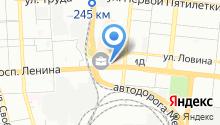 Промснабкомплект на карте