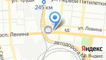 Магро на карте
