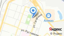 Уральский богатырь на карте