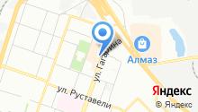 Кафсик на карте
