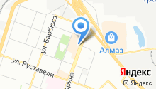Магазин корейских салатов на карте