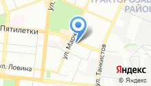 AURA на карте