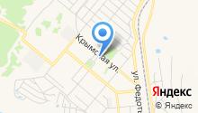 Магазин промтоваров на Крымской на карте
