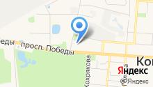 БЛЕСК на карте