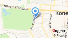 Почтовое отделение №20 на карте