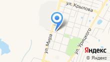 Магазин женской и детской одежды на карте