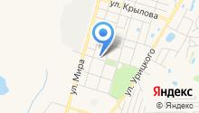 Добрынин на карте