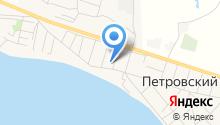 Петровская средняя общеобразовательная школа на карте