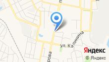 Продуктовый магазин на проспекте Славы на карте
