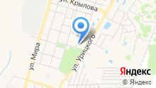 Поликлиника №2, Городская больница №3 на карте