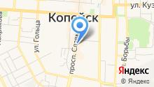 Konfiskat на карте