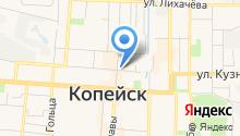 Янтарь, ТСЖ на карте