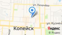 Магазин по продаже колбасных изделий на карте