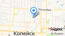 Управление Федеральной службы по контролю за оборотом наркотиков по Челябинской области на карте