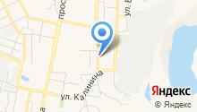 АКМ на карте
