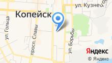 Межрайонная ИФНС России №10 по Челябинской области на карте