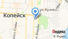 Копейский городской суд Челябинской области на карте