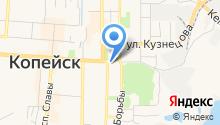 Отдел МВД России по г. Копейску Челябинской области на карте