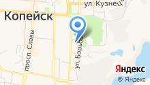 Областной центр технической инвентаризации на карте