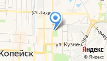 Бюро медико-социальной экспертизы по Челябинской области на карте