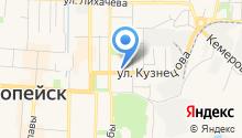 Управление Федеральной службы по надзору в сфере защиты прав потребителей и благополучия человека по Челябинской области на карте