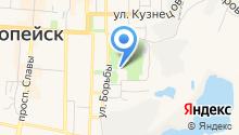 Станция юных техников Копейского городского округа, МОУ на карте