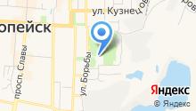 Станция юных техников Копейского городского округа на карте