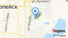 Многофункциональный центр по предоставлению государственных и муниципальных услуг на карте