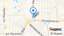 Шиномонтажная мастерская на ул. Меховова на карте