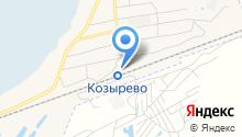 Продуктовый магазин на Станционной на карте