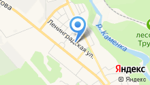 Магазин хлебобулочных изделий на карте