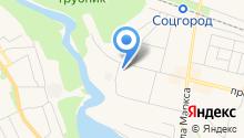 Детская городская больница г. Каменска-Уральского на карте