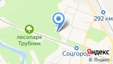 Русский дворик на карте